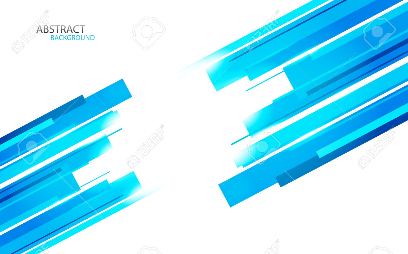Background With Blue Lines Clip.