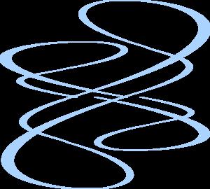 Blue Curve Lines Clip Art at Clker.com.