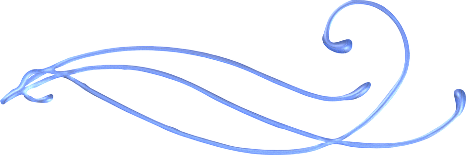 Decorative Line Blue PNG Transparent Images.