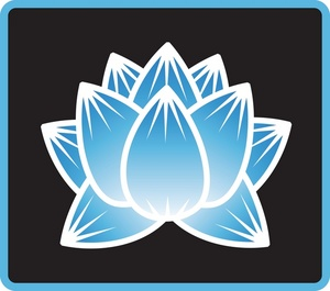 Lotus Flower Clipart Image.