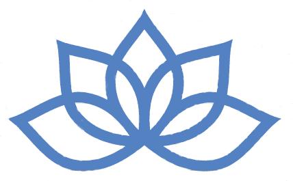 Blue lotus clipart.