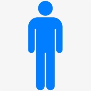 Blue Man Toilet Public Domain Pictures Free Ⓒ.