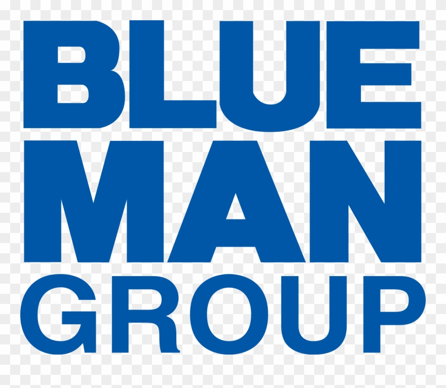 Blue Man Group Logo Clipart (#1877227).