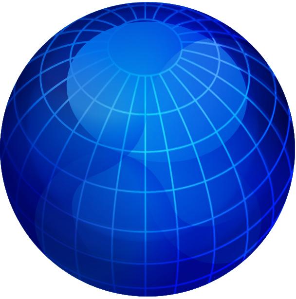 Blue Marble Globe.