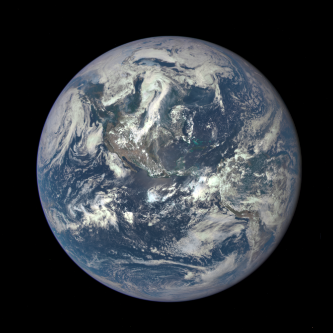 Nasa Releases A New Blue Marble of Planet Earth, Just As Epic.