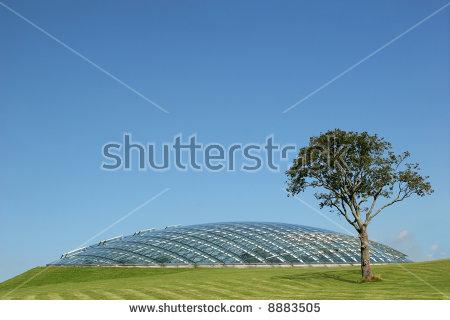 Futuristic Dome Stock Photos, Royalty.