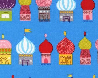 Russian buildings.