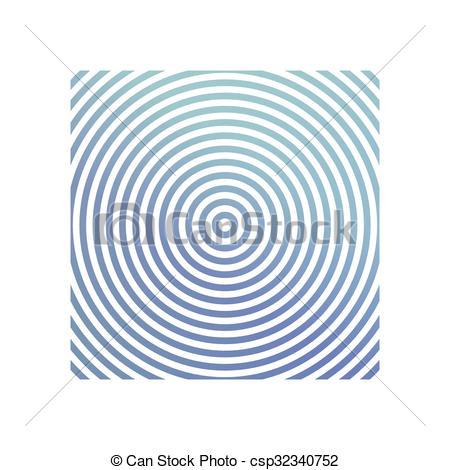 Clipart Vector of Blue metallic circle background design.