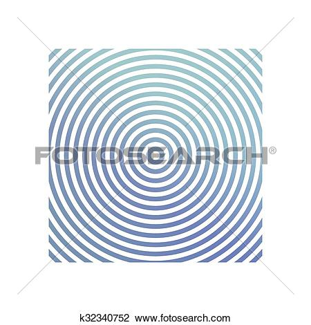 Clipart of Blue metallic circle background design k32340752.