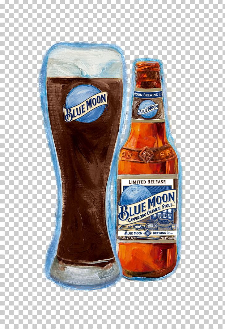 Beer Stout Blue Moon Cappuccino Coffee PNG, Clipart, Beer.