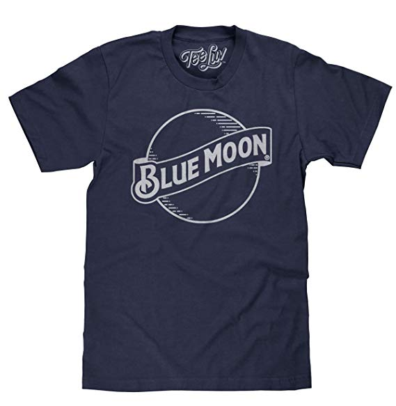 Tee Luv Blue Moon Beer T.