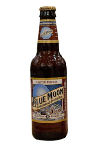 Blue Moon Gingerbread Spiced Ale.