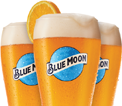 Download Blue Moon Beer Png PNG Image with No Background.