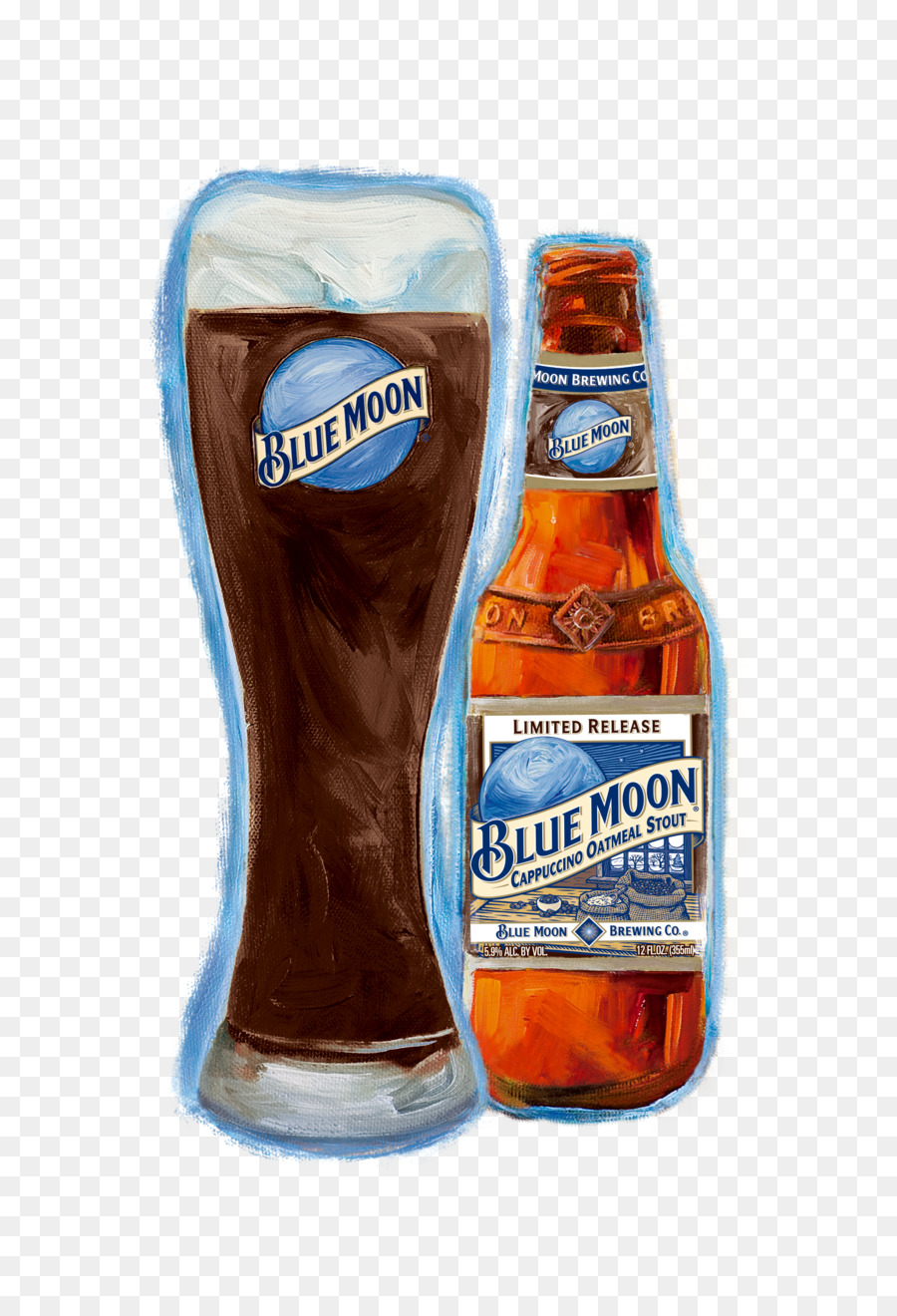 Blue Moon png download.