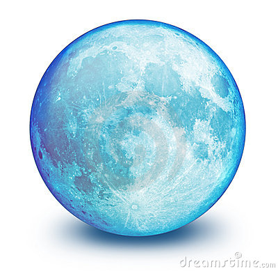 Full blue moon clipart.