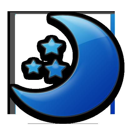 Blue Moon Clipart.