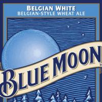 Blue Moon Belgian White Ale.