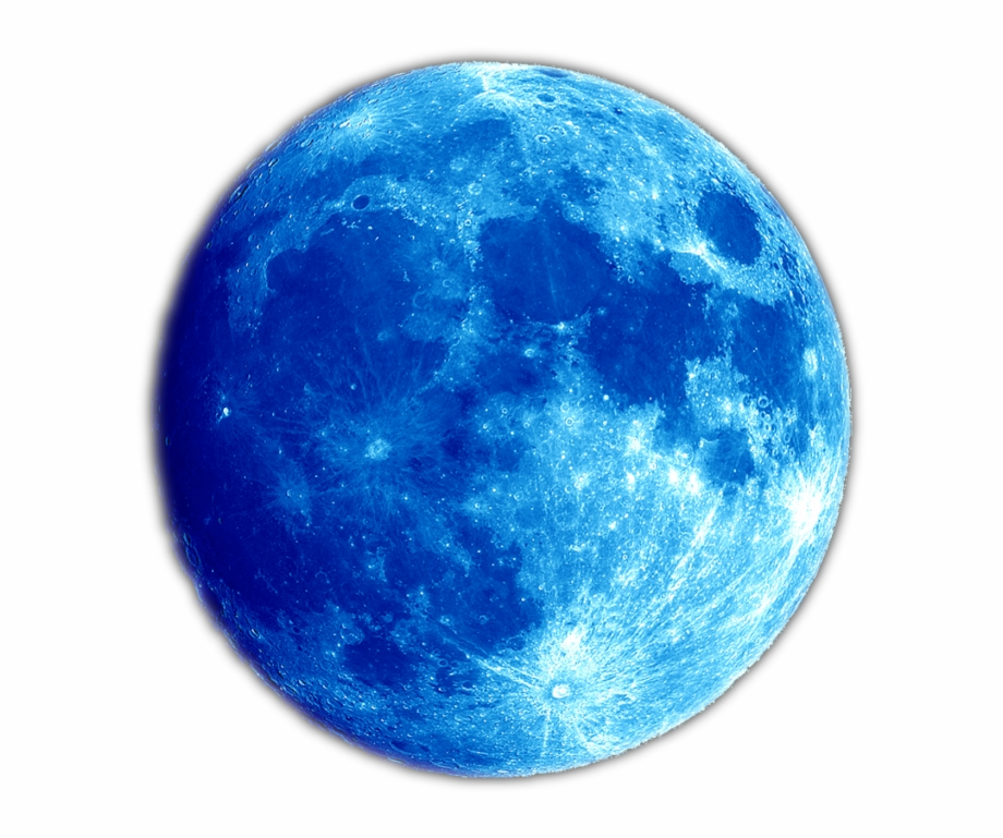 Blue Planet Moon Png.