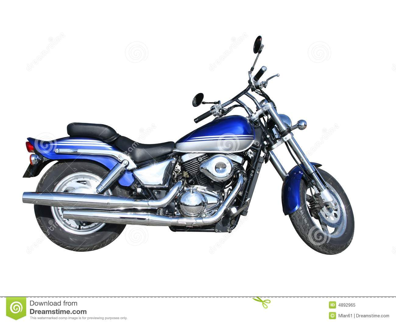 Blue motorcycle stock image. Image of motorcycle, travel.