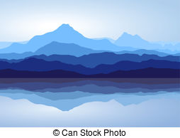 Blue mountains Clip Art Vector Graphics. 10,177 Blue mountains EPS.