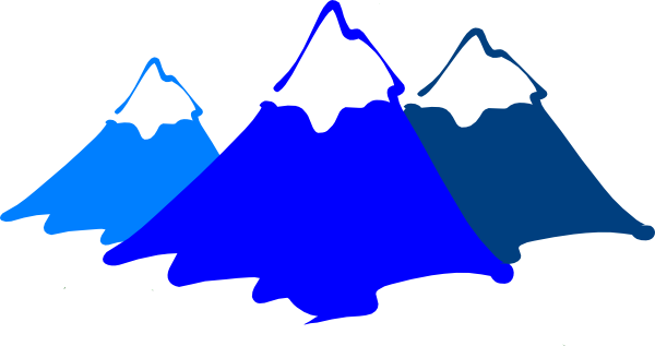 Mountain range clip art free clipart images.