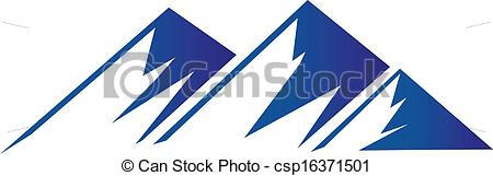Blue mountains clipart - Clipground