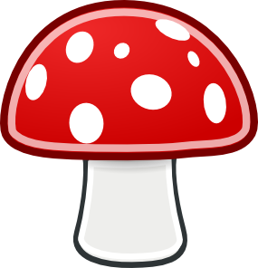 mushroom clipart 22407 blue mushroom clip #art.