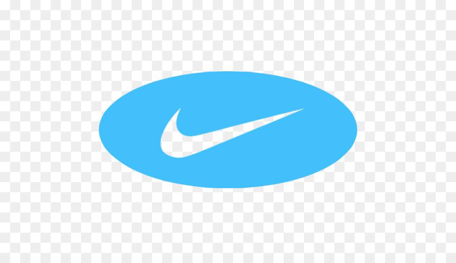 Nike Logo Blue.