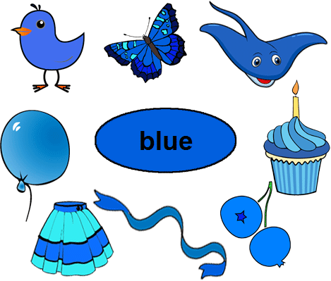 Single color blue worksheets interactive and printable.