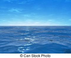 Blue Ocean Clipart.