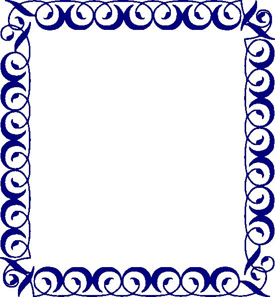 Blue Border Clip Art at Clker.com.