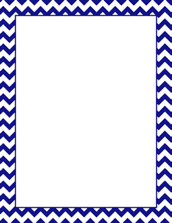 Dark blue outline clipart frames and borders.