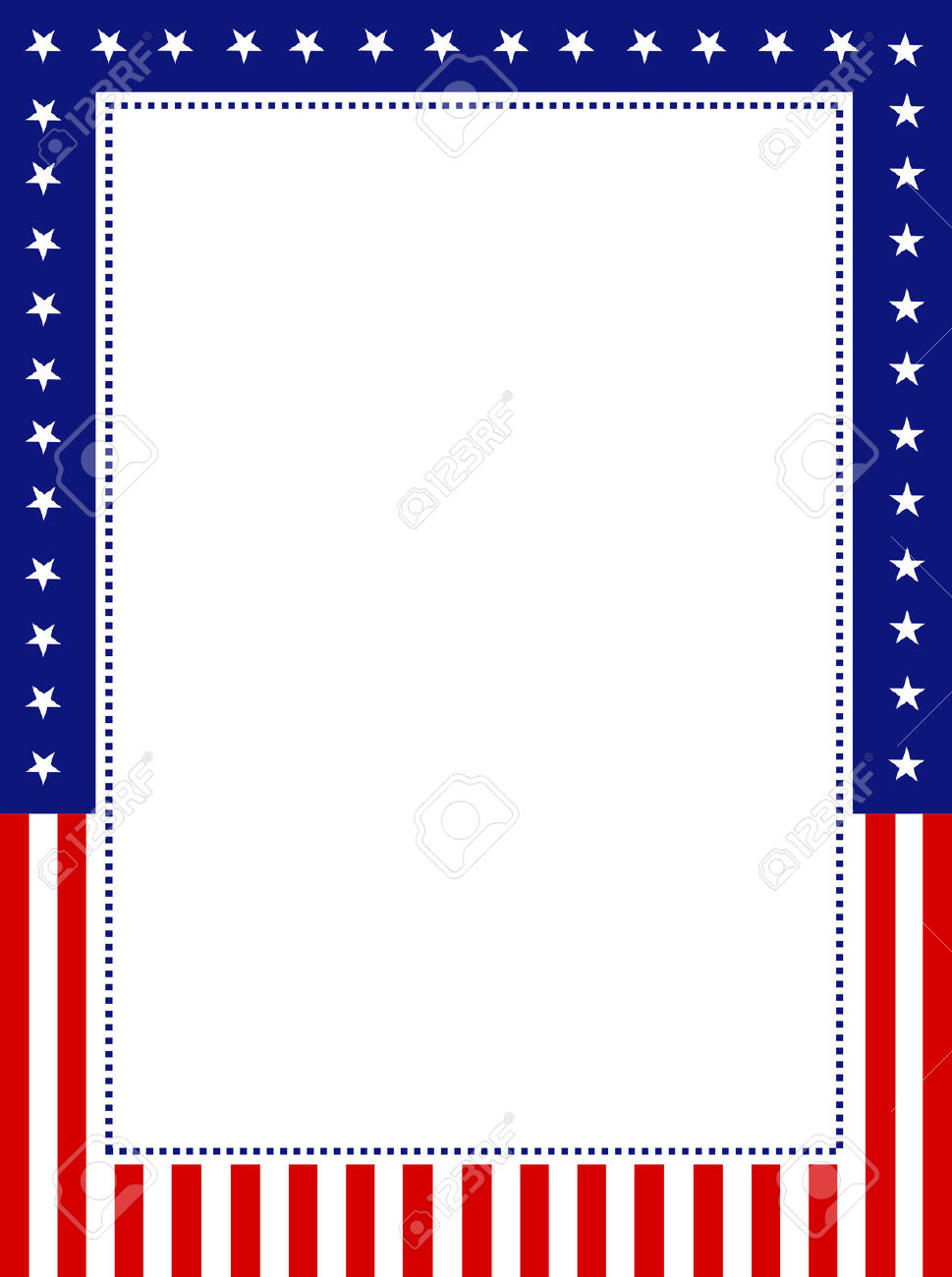 18,800 Patriotic Border Stock Vector Illustration And Royalty Free.