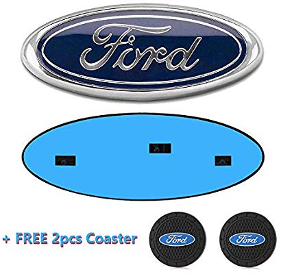 Ford F150 Front Grille Tailgate Emblem, Oval 9\