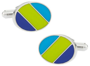 Details about Green Blue Ovals Direct from Cuff.