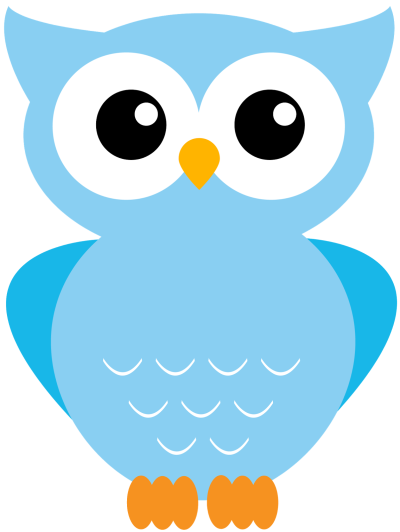 28+ Collection of Blue Owl Clipart PNG.