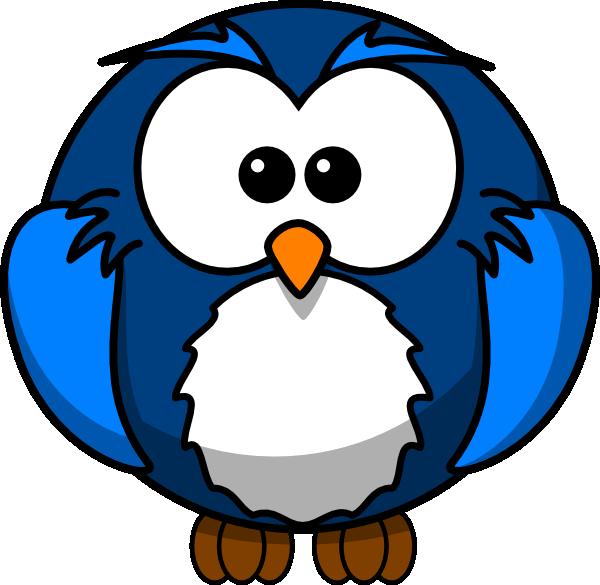 Blue Owl Clip Art at Clker.com.