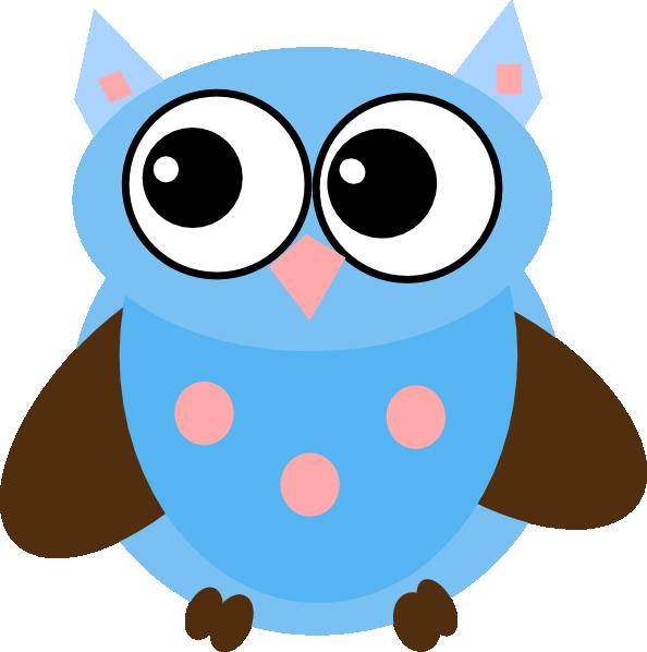 Blue Owl PNG, SVG Clip art for Web.