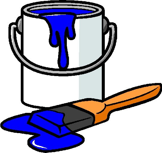 Blue paint clipart 1 » Clipart Portal.