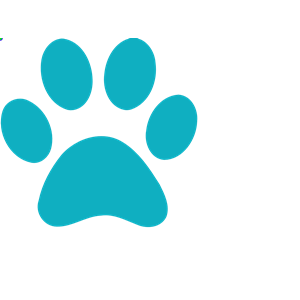 Blue Paw Print clipart, cliparts of Blue Paw Print free download.