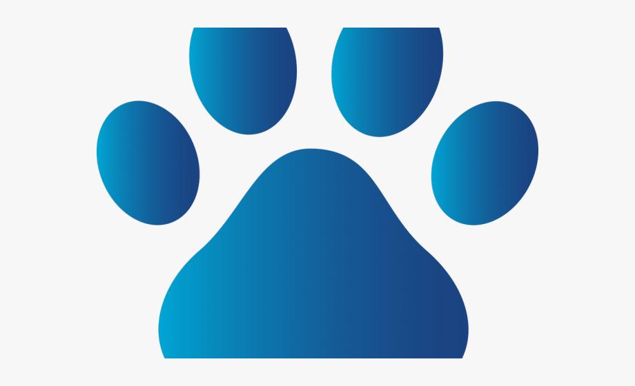 Dog Paw Print Clipart.