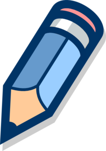 Blue Pencil Clip Art at Clker.com.