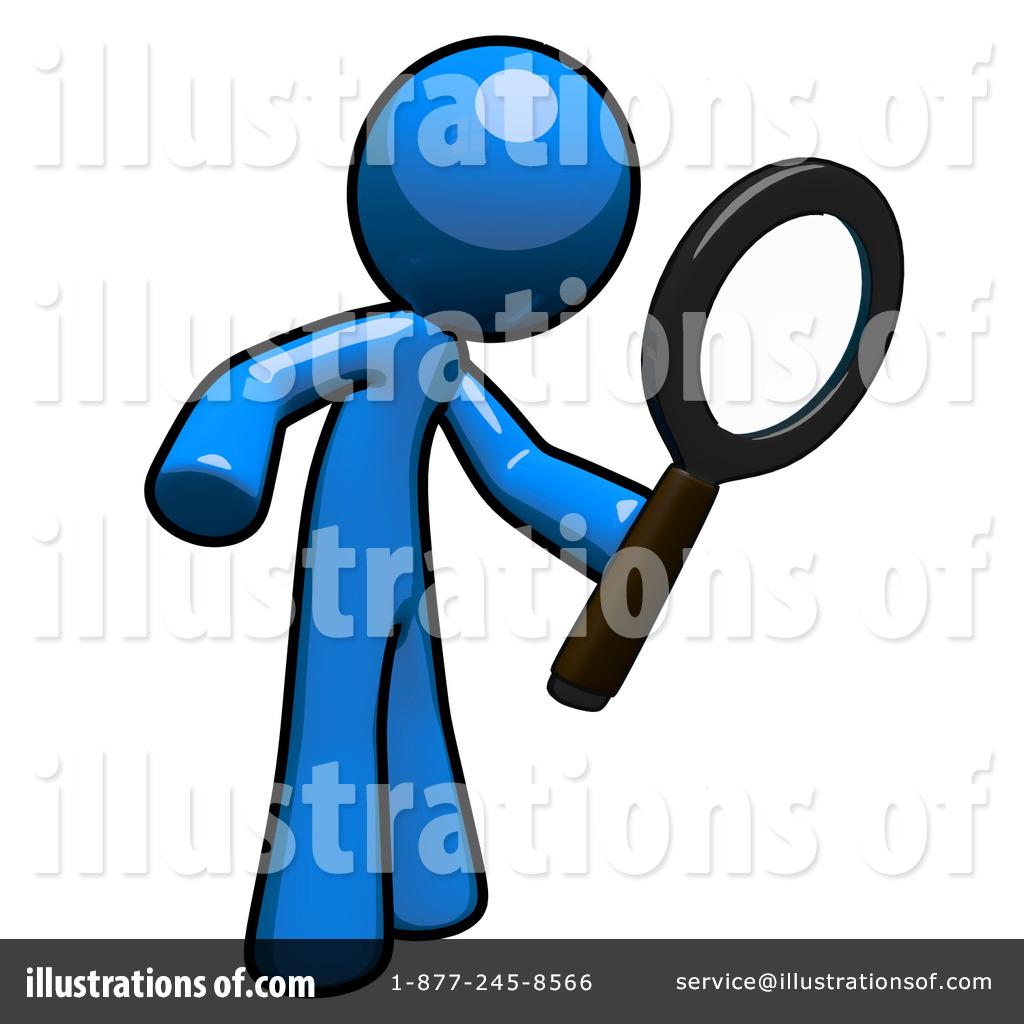 Blue Man Clipart #1110818.