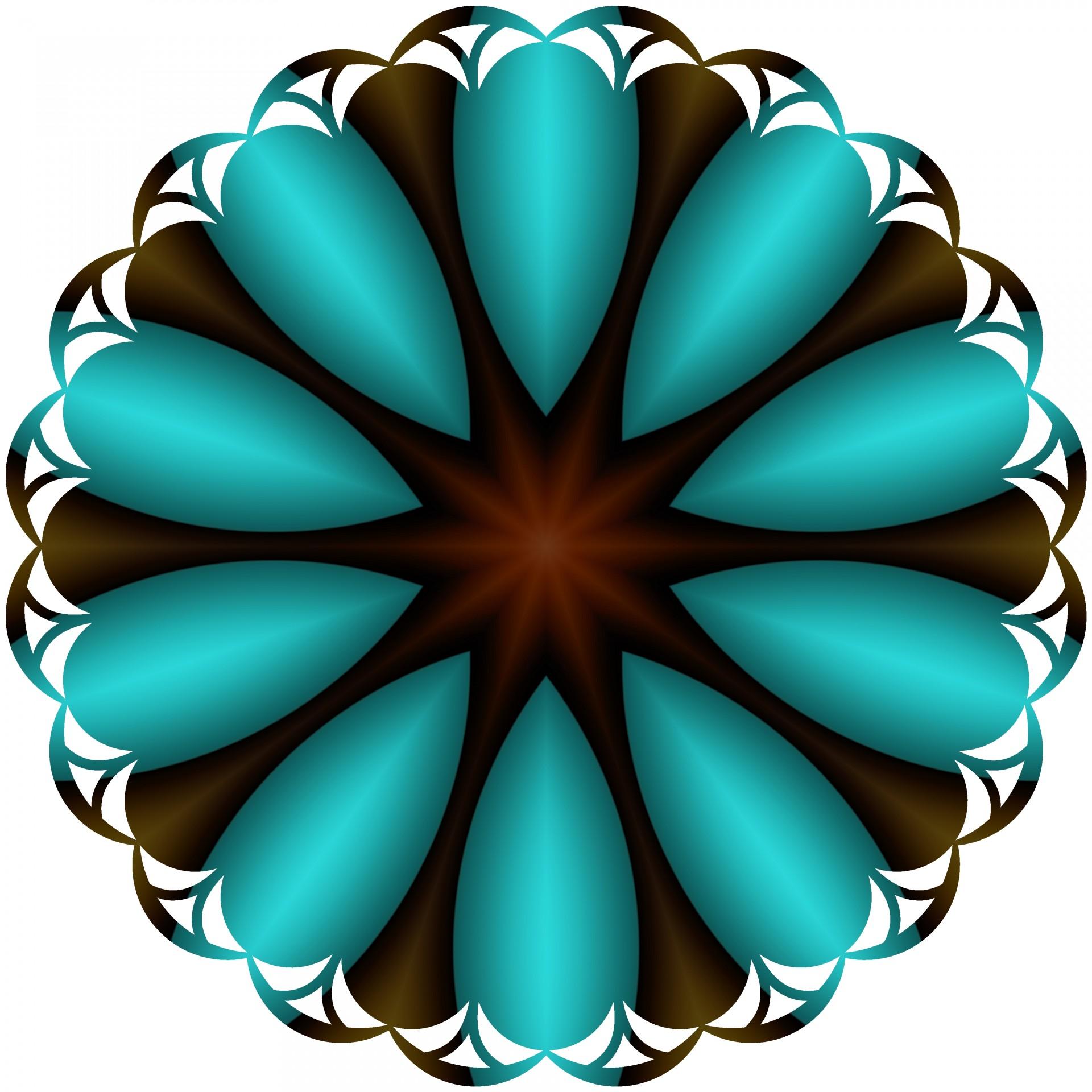 Blue Petals Free Stock Photo.