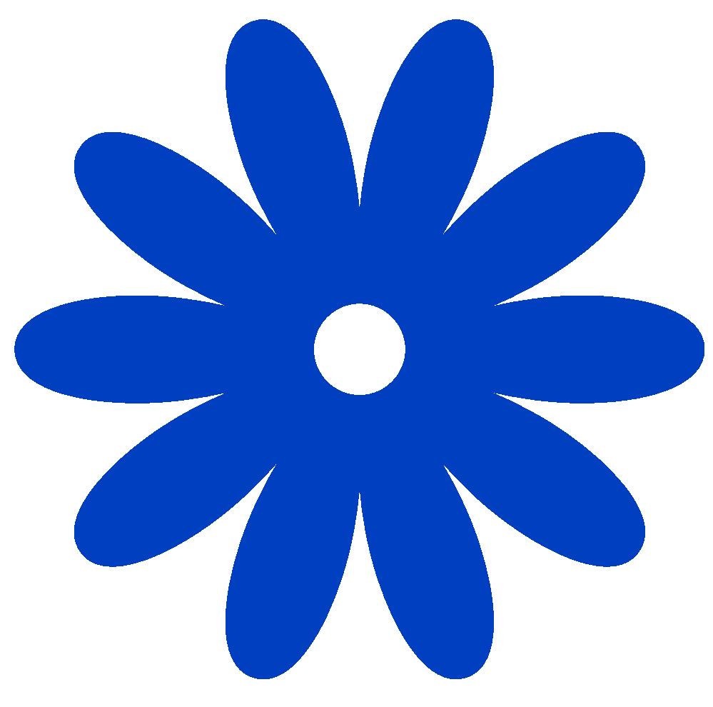 Simple Flower Outline.