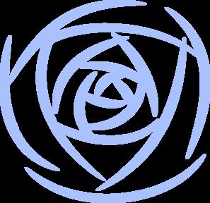 Rose Petals Blue Clip Art at Clker.com.