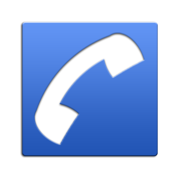 Blue Phone Icon Png.
