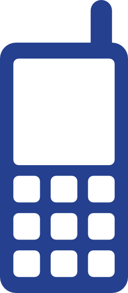 Blue Clipart For Phone.