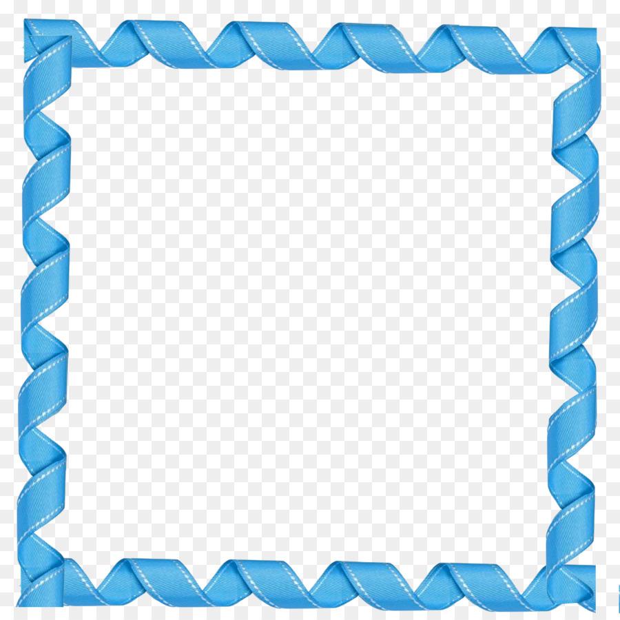 Blue Pattern Frame clipart.
