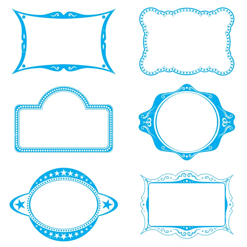 Free Blue Frame Cliparts, Download Free Clip Art, Free Clip.